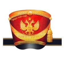 """Шляпа на ободке """"Гусарская"""""""