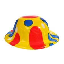 """Карнавальная шляпа """"Круги""""на резинке цвета МИКС"""