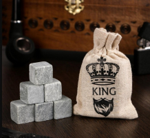 """Камни для виски """"King"""", 6 шт"""