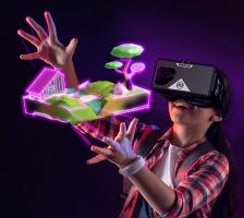 Виртуальная реальность: VR очки на праздник