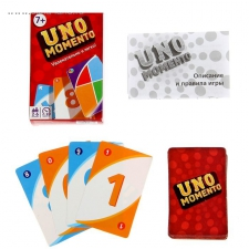 """Карточная игра УНО """"UNO momento"""""""