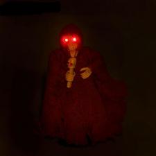 Мертвец с микрофоном, музыкальная, горят глаза, цвета МИКС_1