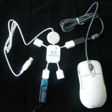 4-Портовый USB Разветвитель Концентратор_1