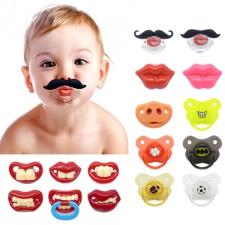 Смешные силиконовые детские соски ортодонтические