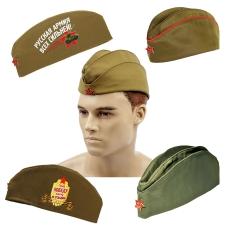 Солдатские пилотки военные для детей и взрослых