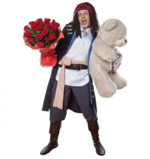 Костюмированная доставка по Липецку цветов и подарков