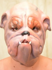 "Латексная маска ""Собака"""