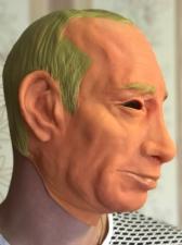 "Латексная маска ""Путин"""