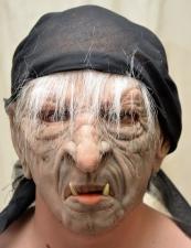 "Латексная маска ""Баба-Яга"""