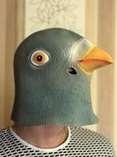 """Латексная маска """"Голубь"""""""