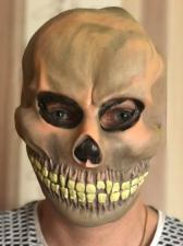 """Латексная маска """"Череп"""""""