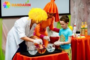 Химическое шоу для детей в Липецке