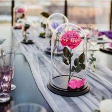 Роза в колбе Премиум / Premium (Большая 28 см)