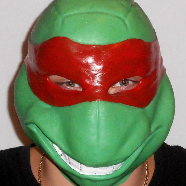 Латексная маска Черепашка Ниндзя (Леонардо) | Оригинальные ...