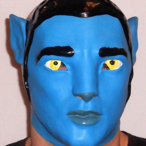 "Латексная маска ""Аватар"""