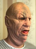 "Латексная  маска ""Толстяк"""