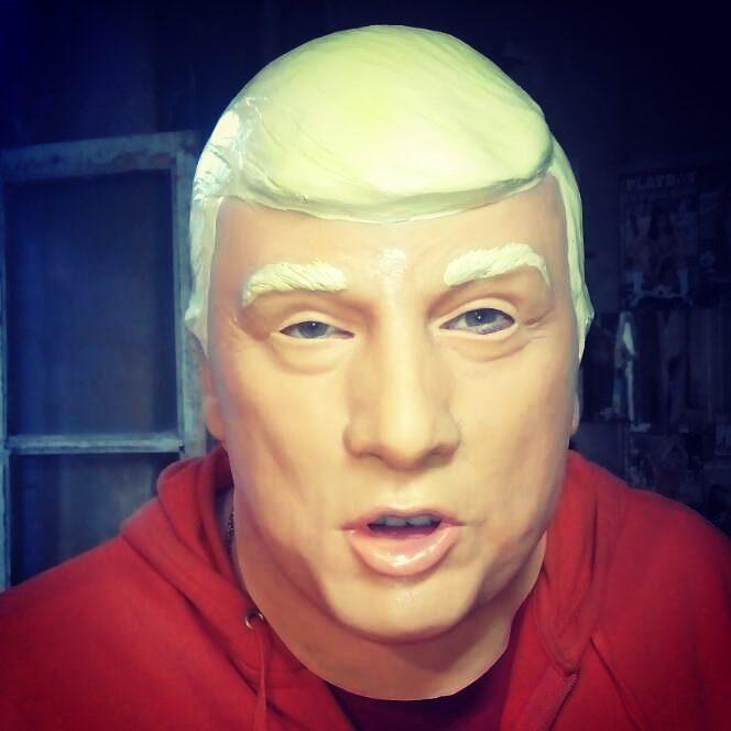"""Латексная маска """"Трамп"""""""