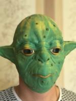 "Латексная маска ""Мастер Йода""_1"