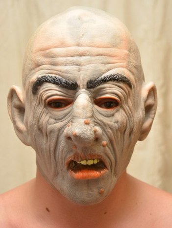 "Латексная маска ""Бородавка"""