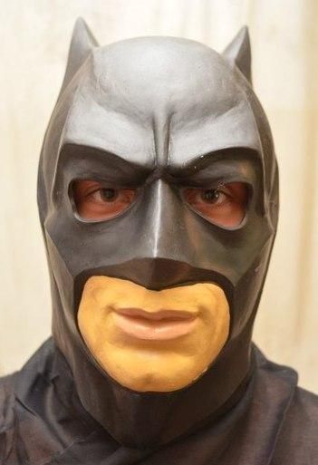 "Латексная маска ""Бетмен"""