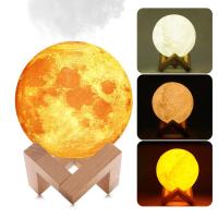 """Арома увлажнитель воздуха - светильник """"Луна"""", 1500 ml_1"""