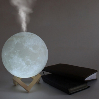 """Арома увлажнитель воздуха - светильник """"Луна"""", 1500 ml_5"""