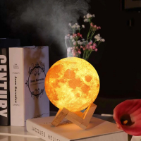 """Арома увлажнитель воздуха - светильник """"Луна"""", 1500 ml_8"""
