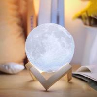 """Арома увлажнитель воздуха - светильник """"Луна"""", 1500 ml_10"""