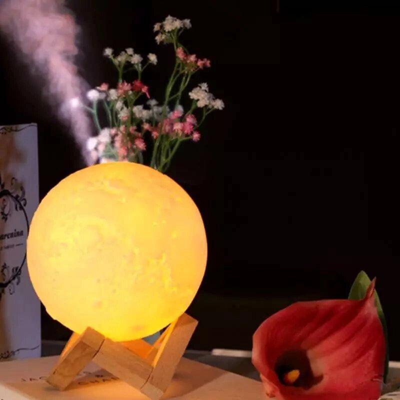 """Арома увлажнитель воздуха - светильник """"Луна"""", 1500 ml"""