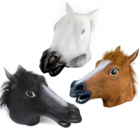 """Латексная маска """"Лошадь"""""""