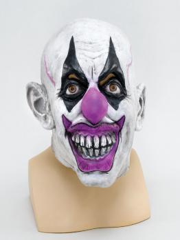 """Латексная маска """"Страшный клоун"""""""